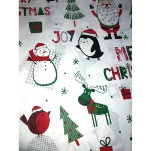Χριστουγεννιάτικα σχέδια σε υφάσματα_aa4