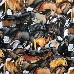 Καραβόπανο με Ψηφιακή Εκτύπωση Άλογα_4