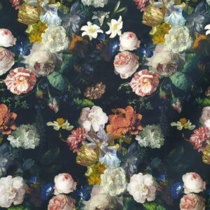 Καραβόπανο με Ψηφιακή Εκτύπωση Floral Vintage_deco10